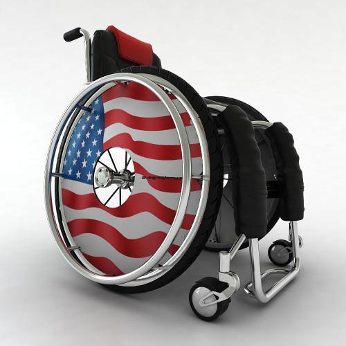 Osłona flaga USA